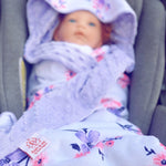 Lilac Dreams Car Seat Wrap