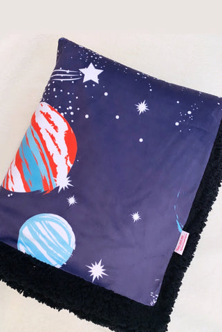 Into Space - Teen & Me Cuddle Up Blanket