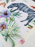 The Serengeti Rose Cuddle Up Blanket