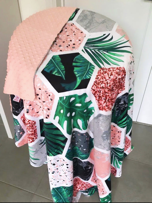 The Botanical Garden WEIGHTED BLANKET COVER