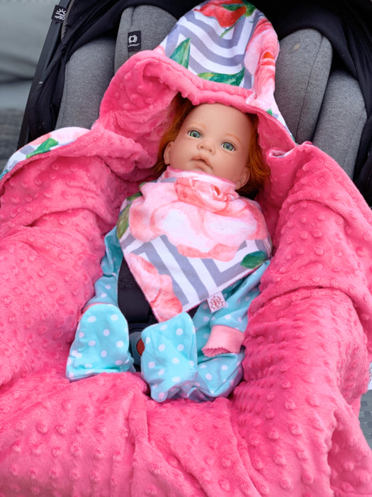 Little Rose Car Seat Wrap