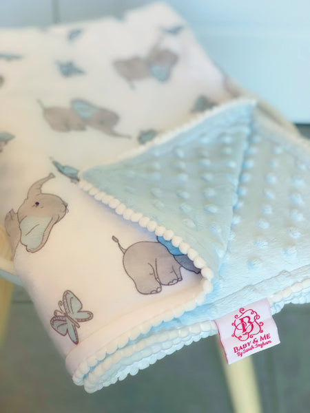 The Little Elephant Blue Baby Teether