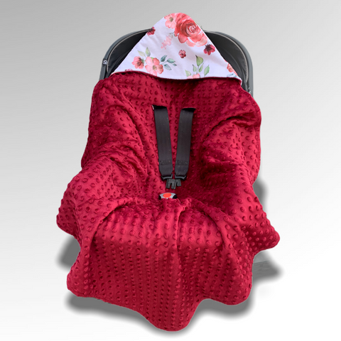 Sunset Garden Car Seat Wrap