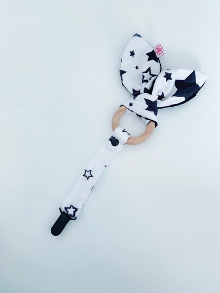 The Monochrome Star Baby Teether