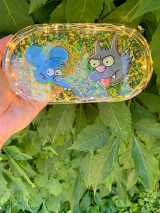 Itchy & Scratchy LED rolling tray
