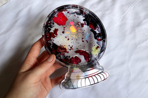 Witchy Crystal Ball Rolling Tray