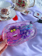 Load image into Gallery viewer, Cheshire Cat Medium Rolling Tray