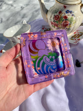 Load image into Gallery viewer, Purple Cheshire Square Ashtray