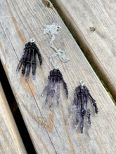 Load image into Gallery viewer, Skeleton Hand Pendant Necklace