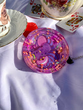 Load image into Gallery viewer, Pink Cheshire Circle Ashtray
