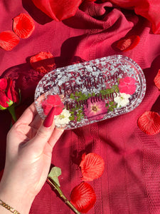 Silver Lovers Small Rolling Tray