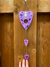 Load image into Gallery viewer, Purple Planchette Wall Hanger