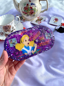 Tripping Alice Small Rolling Tray