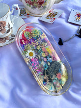 Load image into Gallery viewer, Curiouser & Curiouser Floral Medium Rolling Tray