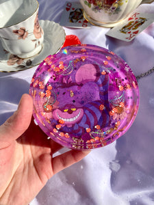 Pink Cheshire Circle Ashtray