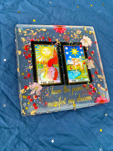The Sun & The Star Square Tray
