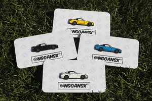 Honda S2000 Club Racer Pin Set (4 Colors)
