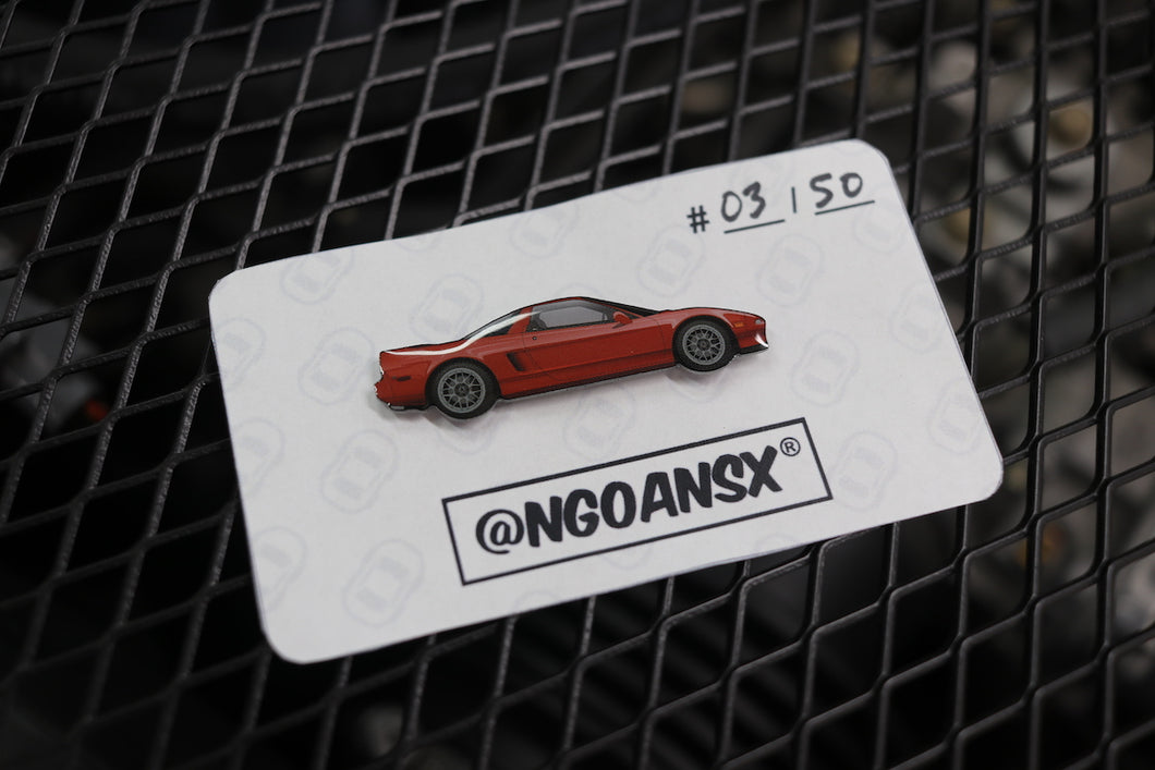Alex Zanardi Edition NSX Pin