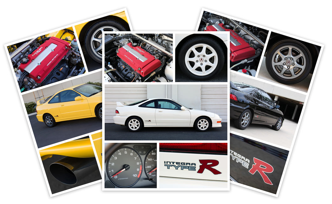 Integra Type R Collection (3 8x10 Acrylic Prints)