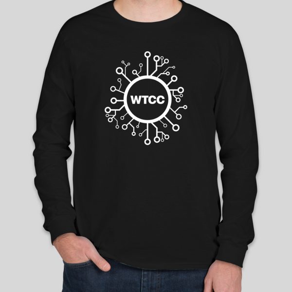 Wyoming Technology Coronavirus Long Sleeve T-Shirt