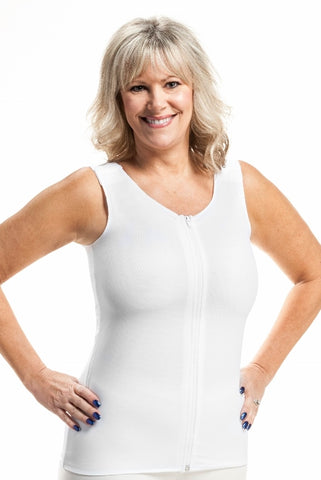 Torso Compression Vest for recovery from surgery and lymphedema - New