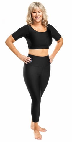 Compression Capri By Wear Ease® The perfect pair to wear with everything