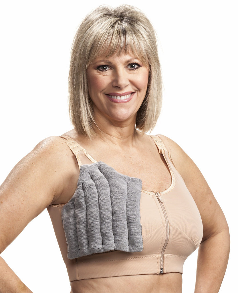 Solaris Full Bra Swell Spot SP-16-B show with Wear Ease Compression Bra.