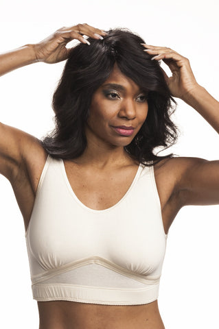 Dawn Post-Surgical Bra by Wear Ease®-Comfortable, Cool Cotton-Great for Sleeping