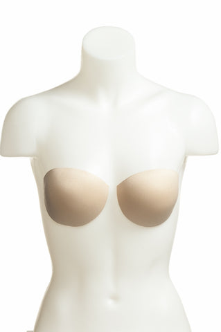 Oval Shaped Molded Foam Bra Cups (one pair) by Wear Ease®  Adds Shape, Symmetry, Smoothness