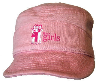 The Girls Pink Cadet Hat by Wear Ease®