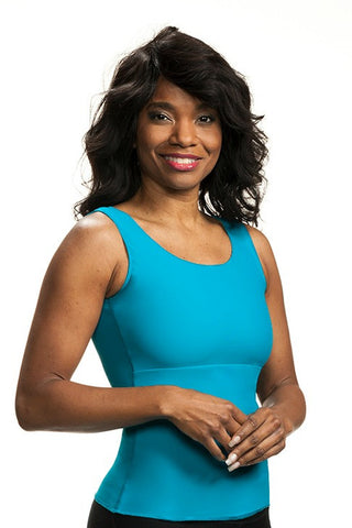Compression Camisole (Short Slimmer) - Get Compression in a Sporty Tank Top!