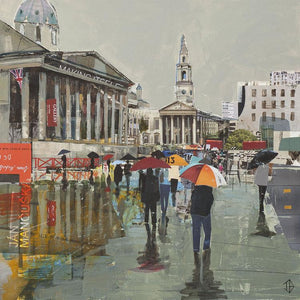British Summertime, A3 Framed - Tom Butler Artist