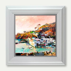Catch Of The Day, Polperro - Tom Butler Artist