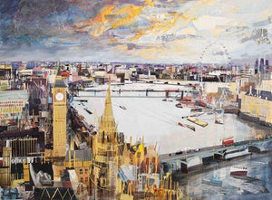 London Sprawling - Tom Butler Artist