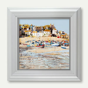 Low Tide, St Ives Bay - Tom Butler Artist