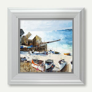 Reflections, Sennen Cove - Tom Butler Artist