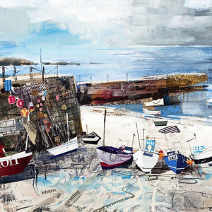 Sennen Cove Boats - Tom Butler Artist