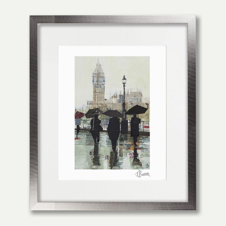 Southbank Reflections - Tom Butler Artist