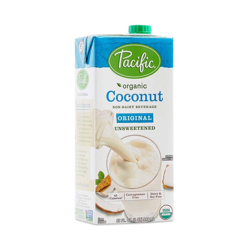 Unsweetened COCONUT MILK - 1 quart