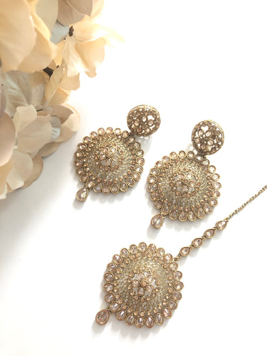 Tikka earring set