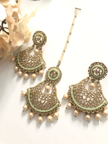 ANJANA Tikka earring set