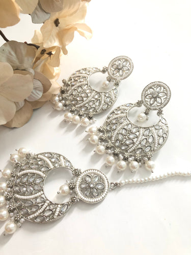 AFZA Tikka earring set