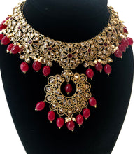 Load image into Gallery viewer, Bridal necklace set MAHI