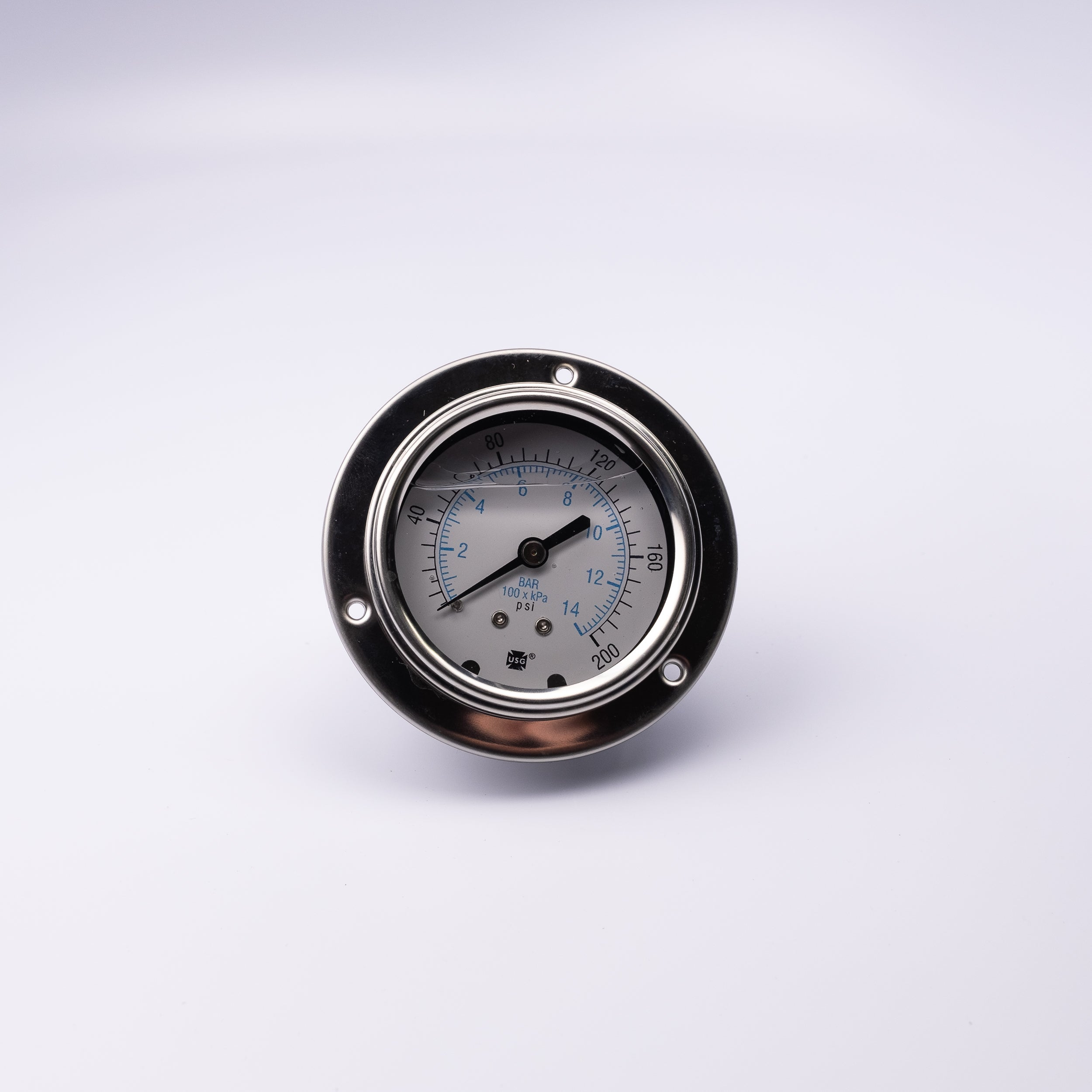25.911.200 Gauge, 2.5, 1/8 CBM, (0-200 PSI) - Mathers Controls