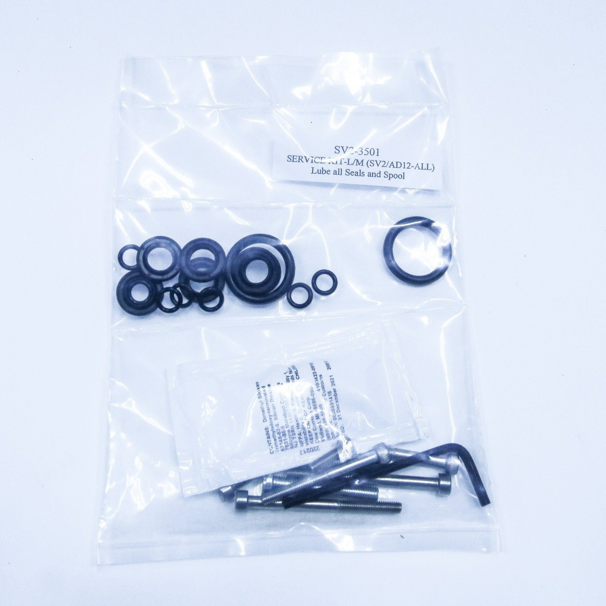 SV2-3501 Service Kit-L/M [AD12-SV2-All] - Mathers Controls