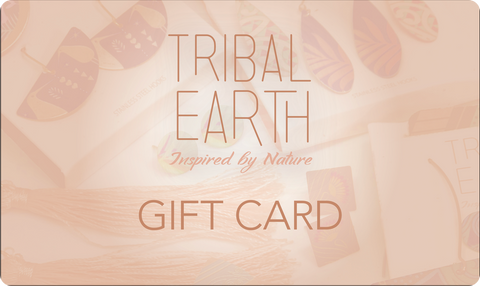 Tribal Earth Jewellery  Gift Card