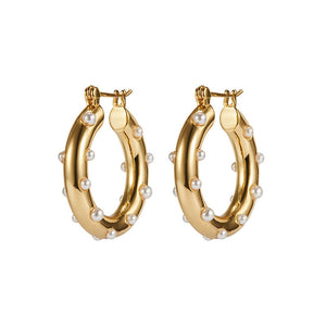 Evolette Hoop Earrings - Oneposh