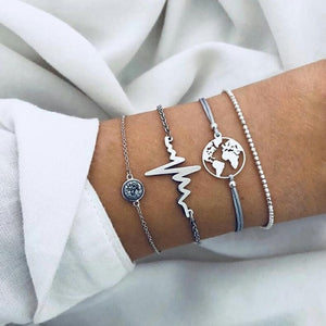Nurse charm beads bracelet set - Oneposh