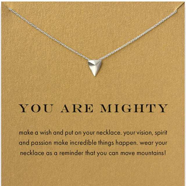 Mighty Pendant Necklace - Oneposh