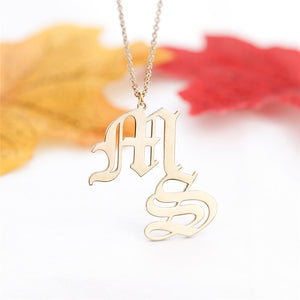 Letterplate Necklace - Oneposh